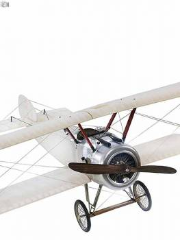 Riesiges Doppeldecker Modell Sopwith Camel Front