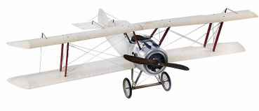 Flugzeugmodell Doppeldecker Sopwith transparent