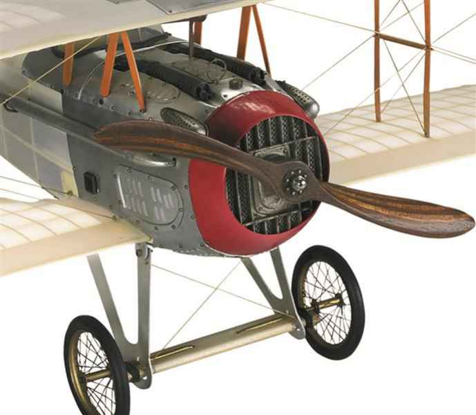 Flugzeugmodell French Spad XIII Vieux Charles Motor