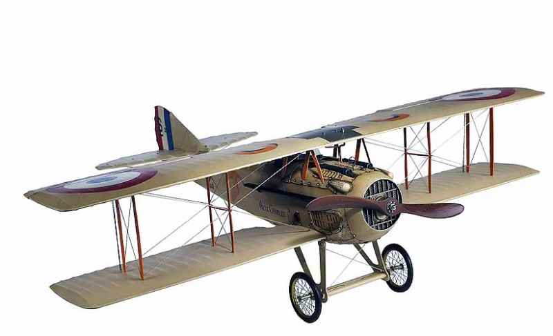 Flugzeugmodell French Spad XIII Vieux Charles