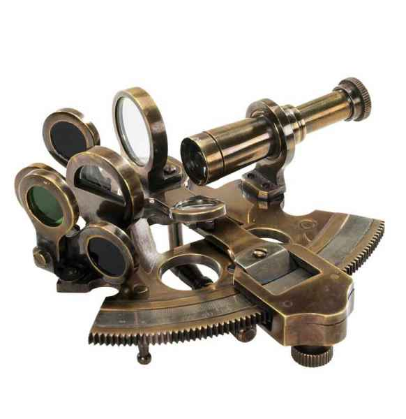 Bronze Pocket Sextant